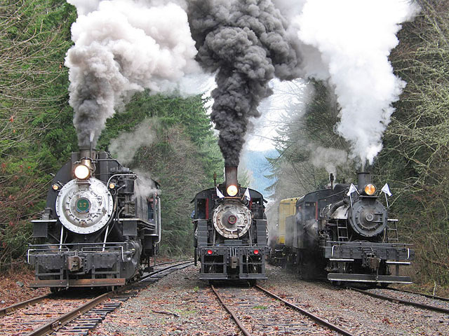 Mount Rainier Scenic Railroad